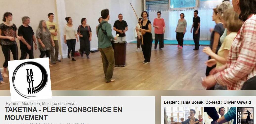 Taketina Pleine Conscience En Mouvement